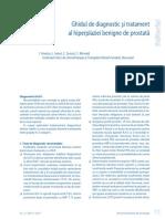 Ghidul de Diagnostic Si Tratament Al Hiperplaziei Benigne de Prostata