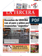 Diario La Tercera 12.07.2016