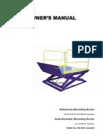 ED DockLift OwnersManual