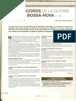 Bossa nova - Les accords (2^)