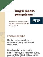 Fungsi Media Dalam Pengajaran Dan Pembelajaran