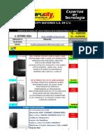 Cotización de Compucity Desktops Ci5
