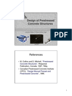 Design of Prestressed