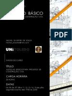 Curso de Extensão - AutoCad Basico - Aula 01 - Apresentação