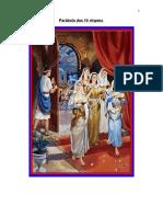 Parábola Das 10 Virgens (Mt 251-13)