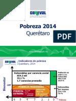 Querétaro Pobreza 2014