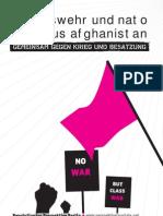 Gegen den Afghanistankrieg 2008