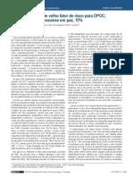 Um Velho Fator de Risco Para DPOC Descanse Em Paz, 15% Paulo Corrêa
