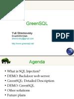 greenSQL Database Firewall