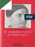 Waltraud, Herbstrith - El Verdadero Rostro de Edith Stein.pdf