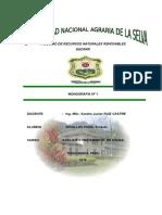 Monografia Nº 1 Analisis y Tratamiento de Agua (Zevallos Poma Ernesto)