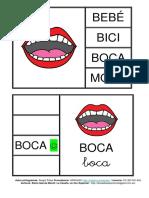 Lectoescritura Pinza Dibujo Palabra Autocorrectivo Castellano