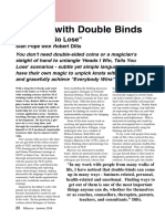 Robert Dilts - Dealing With Double Blinds