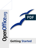 OpenOffice Getting Started Second Edition