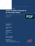 Hearts & Minds of Parents in an Uncertain World