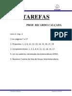 T-MED-SP - Tarefas Prof. Calçada Livro 2 - CAP 5