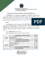 Resolucao n168 2013 Consup Ppc