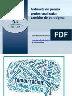 Panel 3 Prensa Judicial Profesionalizada