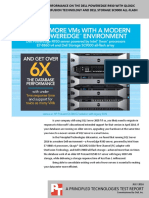 SQL Server 2016 database performance on the Dell PowerEdge R930 QLogic 16G Fibre Channel with StorFusion Technology with Dell Storage SC9000 all-flash array