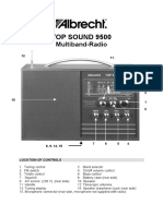 Topsound 9500 Engl