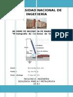 Informe de Manufactura