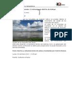 Inundaciones en Puno