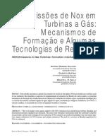 Emissões de Nox em Turbinas a Gás- Mecanismos de Formação e Algumas Tecnologias de Redução.pdf