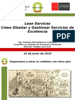 Lean Services - Gustavo Norambuena - Jun16