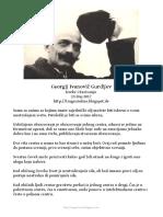 Gurđjiev - Izreke i Kazivanja