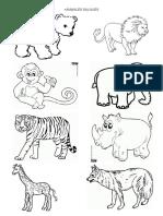 ANIMALES SALVAJES-DOMESTICOS PARA COLOREAR.docx