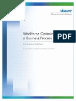 Workforce Optimization