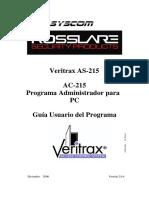 AC215 Manual Software Veritrax Español.pdf
