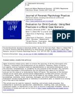CUIDADO PERSONAL Las Mejores Practicas en Los Peores Escenarios- Paper