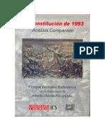 La Constitucion de 1993 - Analisis Comparado - Dr. Enrique Bernales