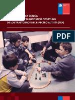 Guia Practica Clinica Trastornos Espectro Autista MINSAL 2011