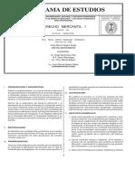 Programa Derecho Mercantil i