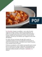 Ñoquis Con Salsa Pomodoro