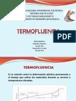 exposicion. termofluencia