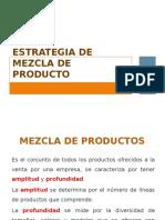 Mezcla de Producto, Marcas, Empaques y Otras Características