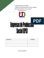 Empresas de Producción Social