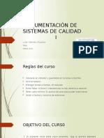 Documentación de Sistemas de Calidad c1