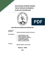 Auditoria Sistemas - Proyecto Parcial