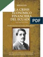 Dillon, Luis - La Crisis Económico Financiera Del Ecuador