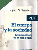 El Cuerpo y La Sociedad Turner