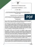 Resolución 5159 de 2015