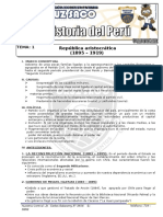 Historia Del Perú - 5to Año - IV Bimestre - 2014