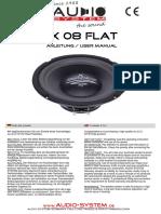 Bda Ax 08 Flat Compl.
