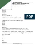 Prova Matem_tica Efomm 2010-2011 Comentada