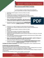 Documentos Para Locaçao