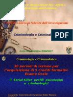 Criminologia e Criminal is Tic A 6 Lezione